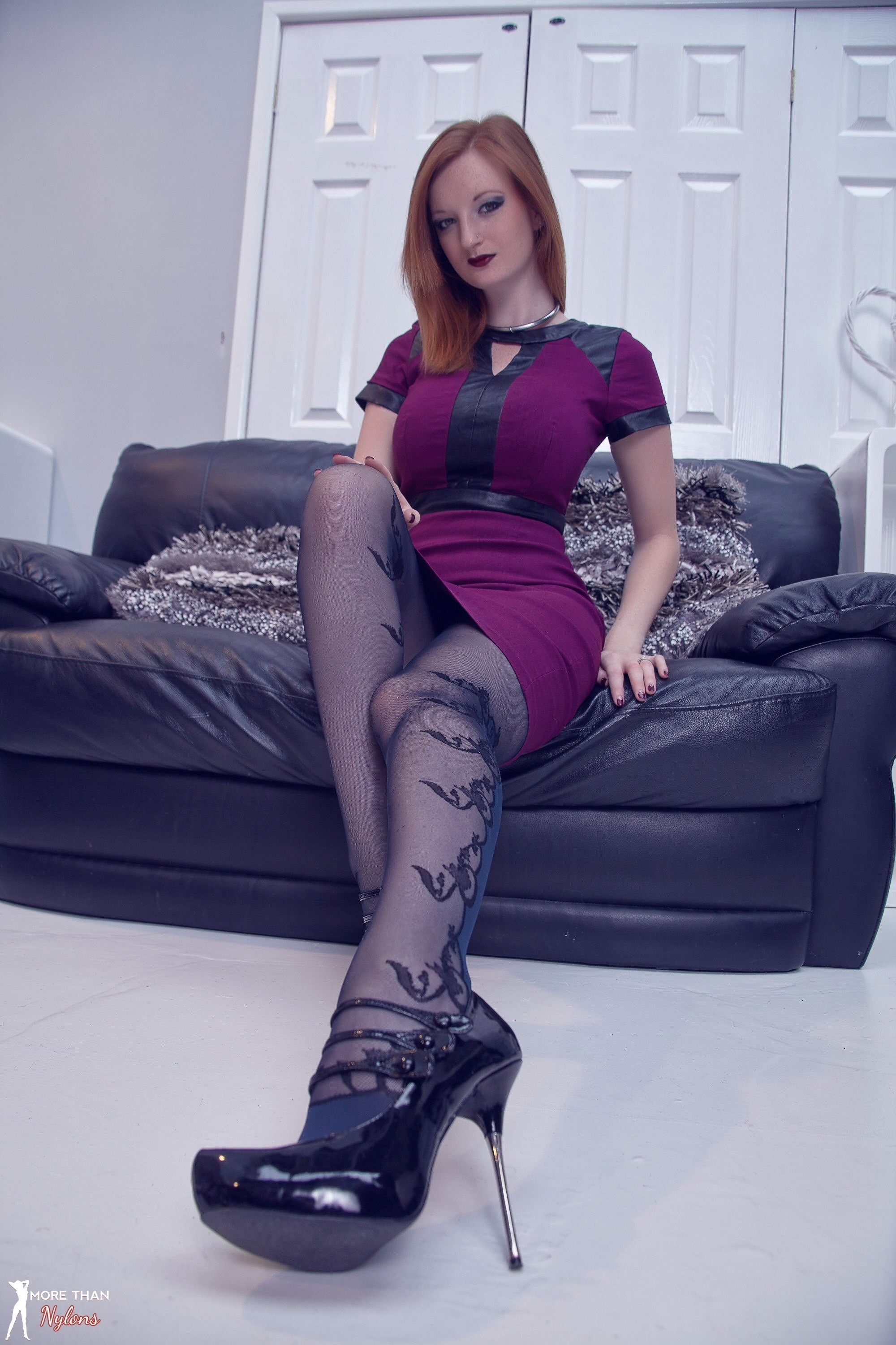 More Than Nylons | Updates | Photos | Black and Blue Beauty